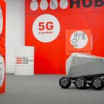 Společnost MTS pomohla vytvořit kurýrní roboty a drony pro 5G
