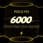 The new Xiaomi Poco M3 will receive a 6000 mAh battery