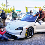"""The Rock"" Dwayne Johnson stopped filming one of the most expensive Netflix films: the actor could not get into the Porsche Taycan electric car"