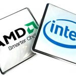 AMD and Intel processors compared on the speed of loading games