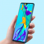 The compact flagship Huawei P30 is given at the lowest price