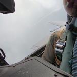 Опубліковано відео з запуском ракети винищувача з видом з кабіни