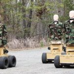 """American Marines trained shooting on """"realistically dying"""" robots"""