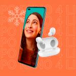 Oppo объявила новогодние скидки на смартфоны с наушниками