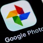 Memories live wallpaper sur Google Photos