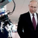 Putin's communication with artificial intelligence hit the video