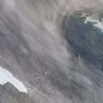 See the largest iceberg ever taken from the air