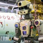 Robot Fedor named as a potential cause of the crack on the ISS