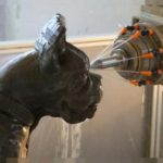 Robots trained to create clay sculptures