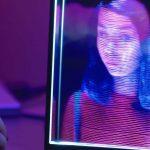 Holographische Anzeige für Videoanrufe erstellt