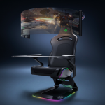 Razer unveils future-proof gaming chair with huge OLED display and RGB lighting