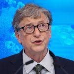 Společnost Microsoft založená Billem Gatesem za účelem vývoje digitálních očkovacích pasů
