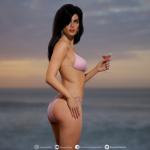 GTA cover girls illustrées en 3D