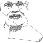 AI draws portraits in the form of a non-self-intersecting loop, or Jordan curve