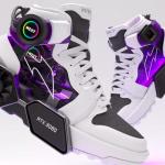 Створено кросівки з відеокартою на підошві