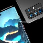 "Huawei P50 Pro showed on new renders: screen-""waterfall"" and quad camera"