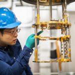 Metamaterial tiles increase the sensitivity of large telescopes