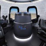 تريد Blue Origin إرسال أول سائحين إلى الفضاء في أبريل