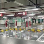 Tesla opens largest electric vehicle charging station in China