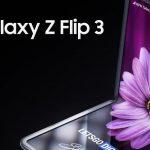 Samsung Galaxy Z Flip 3 pliable montré sur des rendus avec un appareil photo comme le Galaxy S21