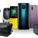 Nokia sells smartphones, push-button phones and accessories at discounts