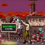 """Vaccination par le """"Spoutnik"""" russe """"réalisée"""" dans l'univers de Mortal Kombat dans une vidéo comique"""