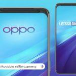 OPPO براءة اختراع لهاتف ذكي بكاميرا أمامية متحركة أفقيًا