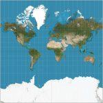 La première carte précise du monde a été créée. Quel est le problème avec tout le monde?