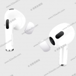 Photos of the third generation of AirPods headphones leaked to the network