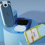 Nokia 3650 4G sur les rendus: un modèle de 18 ans mis à jour avec un design inhabituel