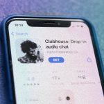The application of the fashionable social network Clubhouse for Android was created