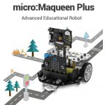 DFRobot micro: Maqueen Plus - a learning robot for the first steps in programming