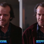 Computer moved Nicolas Cage to Kubrick's The Shining