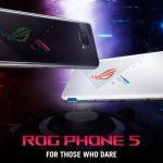 ASUS ROG Phone 5: ثلاثة إصدارات ، شريحة Snapdragon 888 ، ذاكرة وصول عشوائي 18 جيجابايت ، شاشة ROG Vision في الخلف وسعر يبدأ من 800 يورو