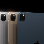 Published renders of the unannounced tablet Apple iPad Pro 2021