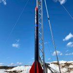 نجحت الاختبارات الأولى للنموذج الأولي لصاروخ النجاح الخاص بالأرصاد الجوية