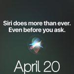 20 أبريل - تستعد Apple لشيء مثير للاهتمام
