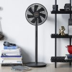 Xiaomi showed Smartmi DC Inverter Floor Fan 3: a smart fan with temperature, humidity and autonomy up to 20 hours