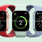ظهرت Apple Watch Series 7 بجودة عالية بتصميم مشابه لجهاز iPhone 12