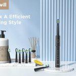 Fairywill Sonic sähköhammasharja E11: nopea latautuva IPX7-luokiteltu sähköharja, jossa 8 korvaavaa harjaspäätä hintaan 16 dollaria