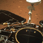 China's first rover sent photos from Mars