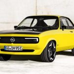 Opel turns the 70s Manta A coupe into an electric car