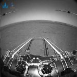 Chinese rover began to move on Mars, leaving the landing platform