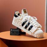No-Wear Sneakers: LEGO Unveils Adidas Superstar $ 79 Set