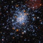 See the scattering of stars in the Small Magellanic Cloud