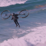 Engineers create an electric eco-friendly jetpack