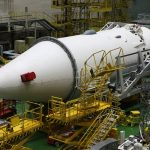 """Look at the assembly of the module for the ISS """"Nauka"""""""