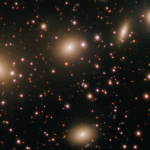 Take a look at this photo of a structure of four galaxies taken with a 268-megapixel camera.