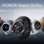 Honor Watch GS Pro: Smartwatch mit MIL-STD-810G-Schutz, GPS und Autonomie bis zu 25 Tage für 136 US-Dollar