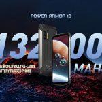 Ulefone Power Armor 13: هاتف ذكي مقاوم للصدمات مع بطارية 13200 مللي أمبير في الساعة